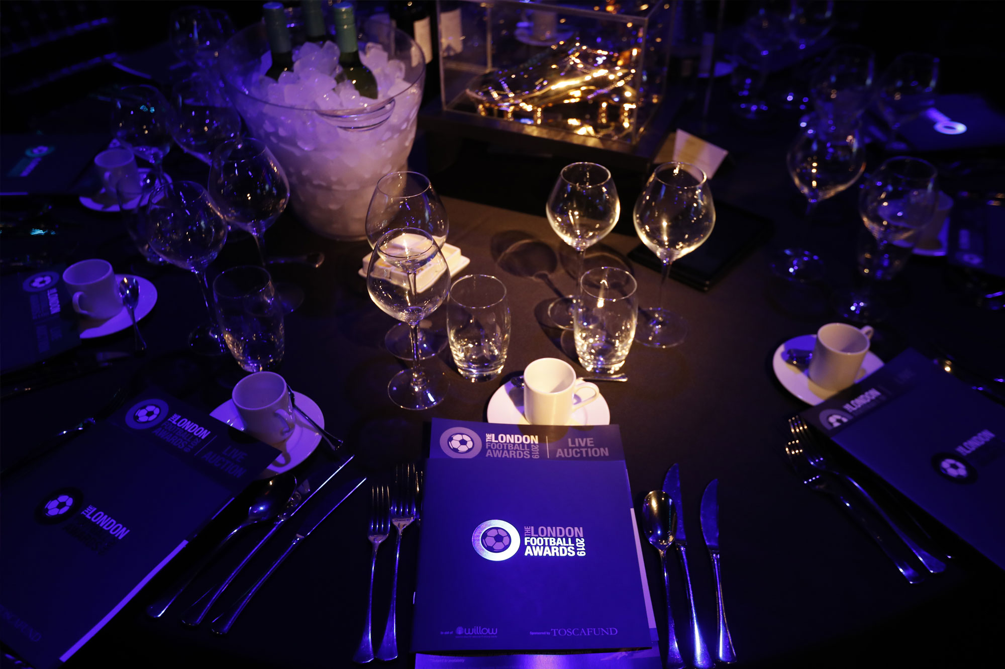 Designing for the London Football Awards 2019 - Cove Design