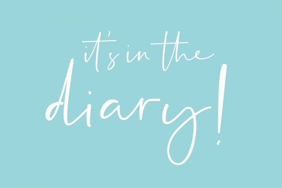 Cove Design Studio - it's in the diary!